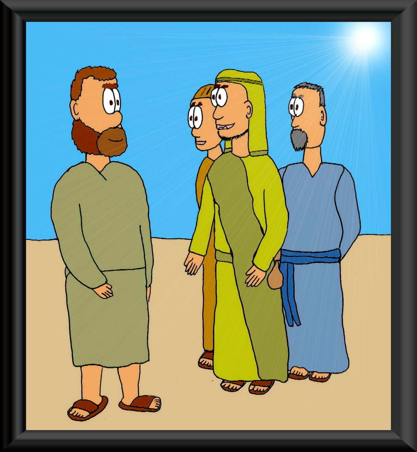 PETER WITNESSES TEACHING SAMPLE