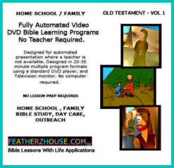 Children s church home school and famiy bible lessons with featherz